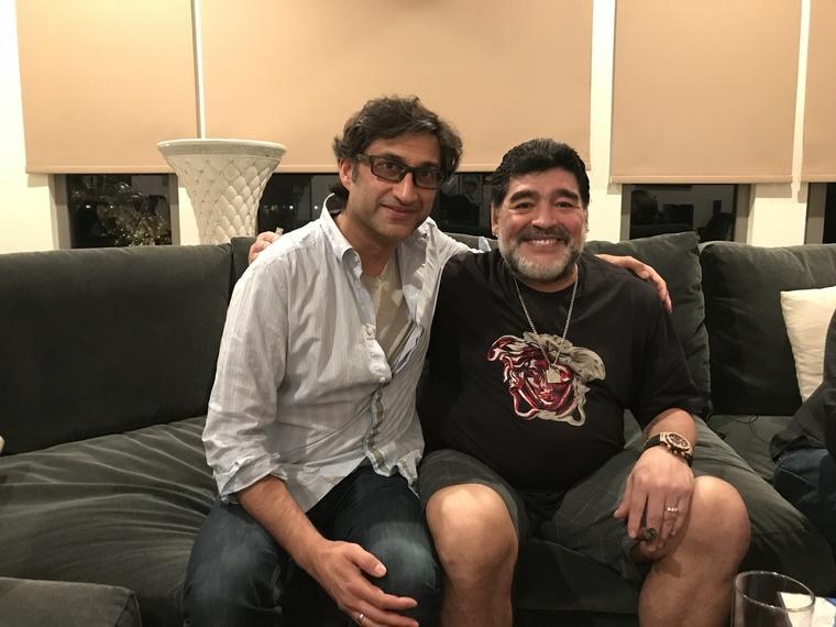Thumb 200diego maradona and asif kapadia